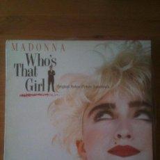Discos de vinilo: MADONNA - WHOS THAT GIRL - QUIEN ES ESA CHICA. Lote 33690507