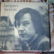 Discos de vinilo: JACQUES BERTIN . Lote 33691582