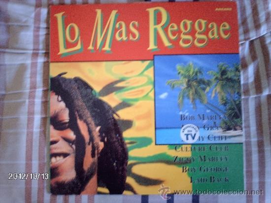 LO MAS REGGAE BOB MARLEY- EDDY GRANT- JIMMY CLIFF- CULTURE CLUB- .... (Música - Discos - LP Vinilo - Reggae - Ska)