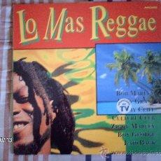 Discos de vinilo: LO MAS REGGAE BOB MARLEY- EDDY GRANT- JIMMY CLIFF- CULTURE CLUB- ..... Lote 33706508