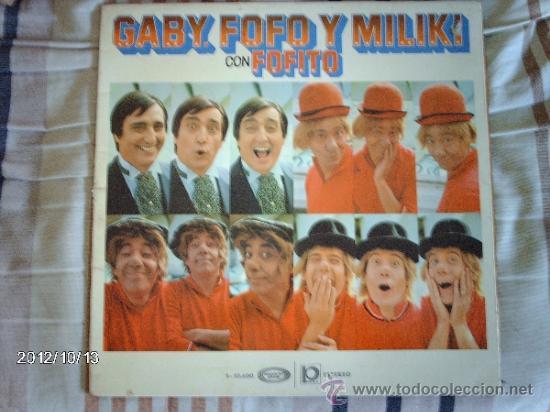GABI FOFO Y MILIKI CON FOFITO (Música - Discos - LPs Vinilo - Música Infantil)