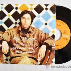 Discos de vinilo: RAUL ALCOVER - CANCIONERO GUIA/POR QUE LAS GOLONDRINAS (RCA SINGLE 1978) ESPAÑA. Lote 33711738