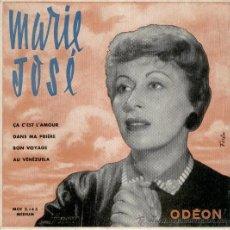 Discos de vinilo: MARIE JOSE - ÇA C'EST L'AMOUR - BON VOYAGE + 2 - EP FRANCE -- EX / EX. Lote 33716670