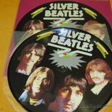Discos de vinilo: THE BEATLES - SILVER BEATLES ( RECORDED 1961) - LP PICTURE DISC CON CARPETA - RARE - N MINT. Lote 33717542