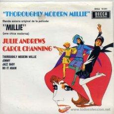 Discos de vinilo: BANDA SONORA DE LA PELICULA MILLIE - JULIE ANDREWS / CAROL CHANNING (EP 1967). Lote 33720002