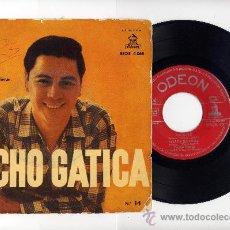 Discos de vinilo: LUCHO GATICA. EP 45 RPM. SOMOS+HASTA SIEMPRE + 2.ODEON AÑO 1958. Lote 33720158