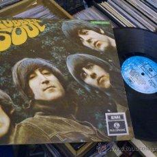 Discos de vinilo: THE BEATLES RUBBER SOUL LP VINILO ITALIA DIFERENTE CONTRAPORTADA 3 C062 04116 PARLOPHONE EMI . Lote 33722911