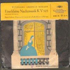Discos de vinilo: MOZART EINE KLEINE NACHTMUSIK KV 525 ( SERENATA NOCTURNA ) RF-5915. Lote 33722997