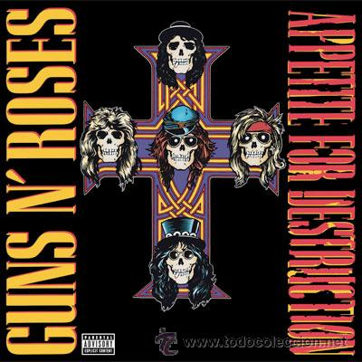 LP GUNS N ROSES APPETITE FOR DESTRUCTION GUNS AND ROSES VINILO (Música - Discos - LP Vinilo - Heavy - Metal)