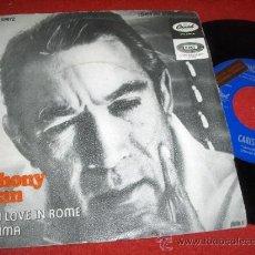 Discos de vinilo: ANTHONY QUINN FALL IN LOVE IN ROME/ CARISSIMA LP 1968 CAPITOL PROMO ED ESPAÑOLA. Lote 33736829