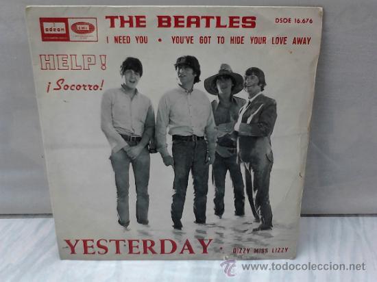 Discos de vinilo: THE BEATLES HELP! 1965 - Foto 5 - 33728518