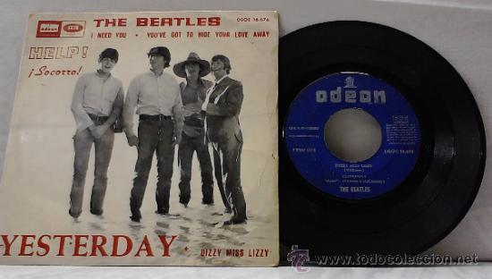 Discos de vinilo: THE BEATLES HELP! 1965 - Foto 3 - 33728518