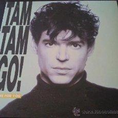 Discos de vinilo: TAM TAM GO - I COME FOR YOU - MAXI SINGLE 3 TÍTULOS. Lote 33743749