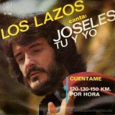 """Discos de vinilo: LOS LAZOS Y JOSELES - EP 7"""" - EDITADO EN MÉXICO - CUÉNTAME (FORMULA V COVER-VERSION) + 2 ORFEON 1963. Lote 33766915"""