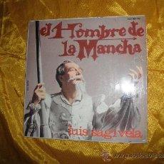 Discos de vinilo: EL HOMBRE DE LA MANCHA. LUIS SAGI-VELA, DIRECCION ORQUESTAL JOSE TORREGROSA. EP. PHILIPS 1966. Lote 33769368