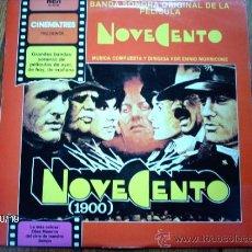Discos de vinilo: NOVECENTO - BANDA SONORA ORIGINAL DE LA PELICULA - ENNIO MORRICONE. Lote 33797704