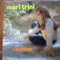 Discos de vinilo: MARI TRINI - L´AUTOMNE . Lote 33797901