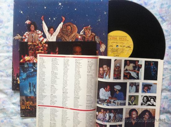 LP DOBLE-THE WIZ-SOUNDTRACK (Música - Discos - LP Vinilo - Pop - Rock - Extranjero de los 70)