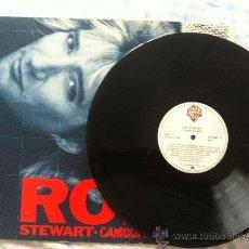 Discos de vinilo: LP ROD STEWART-CAMOUFLAGE. Lote 33781884