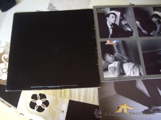 Discos de vinilo: NACHA POP SET PROMO DIBUJOS ANIMADOS (FOLDER + LP + HOJA) INENCONTRABLE JOYA POP - Foto 2 - 33782391