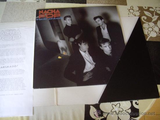 Discos de vinilo: NACHA POP SET PROMO DIBUJOS ANIMADOS (FOLDER + LP + HOJA) INENCONTRABLE JOYA POP - Foto 3 - 33782391