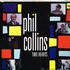 Discos de vinilo: PHIL COLLINS - TWO HEARTS / THE ROBBERY - MAXISINGLE 1988. Lote 33783344
