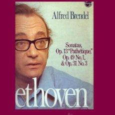 Discos de vinilo: BEETHOVEN LP ALFRED BRENDEL PIANO PHILIPS 95 00077 1977 SPA SONATAS OP 13. Lote 15377128