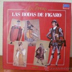 Dischi in vinile: LA OPERA; LAS BODAS DE FIGARO - Nº 39- LP SALVAT , . Lote 33787840