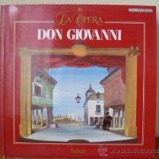 Disques de vinyle: LA OPERA; DON GIOVANNI - Nº 16 - LP SALVAT , . Lote 33788176