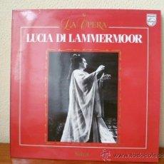 Dischi in vinile: LA OPERA; LUCIA DI LAMMERMOOR - Nº 6 - LP SALVAT , . Lote 33788278