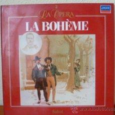 Dischi in vinile: LA OPERA; LA BOHÉME - Nº 2 - LP SALVAT , . Lote 33788324