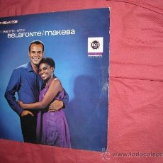 Discos de vinilo: HARRY BELAFONTE & MIRIAM MAKEBA (AN EVENING WITH) LP RCA LSP 3420 196? VER FOTO ADICIONAL. Lote 33792554
