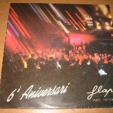 Discos de vinilo: LP MAXI 6 ANIVERSARI FLAPS MUSIC FACTORY .DON DISCO FLAPS001 1990 PROMOCIONAL. Lote 33801880