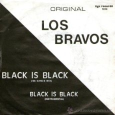 "Discos de vinilo: LOS BRAVOS - SINGLE VINILO 7"" - EDITADO EN ALEMANIA - BLACK IS BLACK (86 DANCE MIX) - ZYX 1986. Lote 33801882"