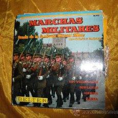 Discos de vinilo: MARCHAS MILITARES. BANDA ACADEMIA GENERAL MILITAR, CON CORNETAS Y TAMBORES. BELTER 1961. IMPECABLE. Lote 33810274