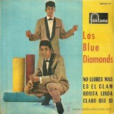 Discos de vinilo: LOS BLUE DIAMONDS EP SELLO FONTANA AÑO 1965 EDITADO EN ESPAÑA.. Lote 33811936