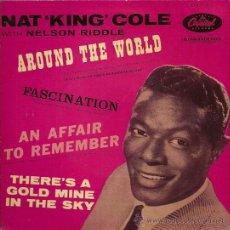 Discos de vinilo: NAT KING COLE EP SELLO CAPITOL AÑO 1958 EDITADO EN ESPAÑA.. Lote 33812021