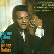 Discos de vinilo: JOHNNY MATHIS EP SELLO CBS AÑO 1963 EDITADO EN ESPAÑA.. Lote 33812048