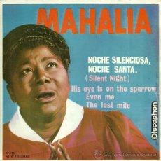 Discos de vinilo: MAHALIA JACKSON EP SELLO DISCOPHON AÑO 1963 EDITADO EN ESPAÑA. Lote 33812544