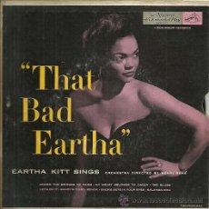 Discos de vinilo: EARTHA KITT EP DOBLE (2 DISCOS) SELLO RCA VICTOR EDITADO EN USA.. Lote 33812573