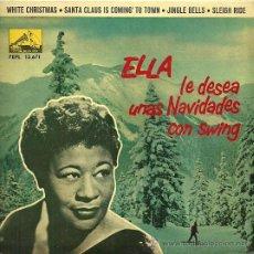 Discos de vinilo: ELLA FITZGERALD EP SELLO LA VOZ DE SU AMO AÑO 1961 EDITADO EN ESPAÑA. Lote 33812599