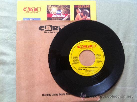 """7"""" CARTER-PANIC-THE ONLY LIVING BOY... (Música - Discos - Singles Vinilo - Pop - Rock Internacional de los 90 a la actualidad)"""