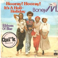 Discos de vinilo: HOORAY ! HOORAY ! LT`S A HOLI - HOLIDAY. Lote 33815569