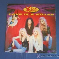 Discos de vinilo: VIXEN LOVE IS A KILLER. Lote 33825150