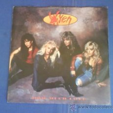 Discos de vinilo: VIXEN HOW MUCH LOVE. Lote 33825492