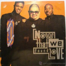 Discos de vinilo: NOW THAT WE FOUND LOVE . Lote 33828908