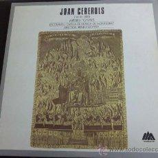 Discos de vinilo: JOAN CEREROLS, MISSES TONALS. ESCOLANIA I CAPELLA DE MONSTSERRAT. DTOR: IRENEU SEGARRA. DOBLE LP, 2D. Lote 33832092