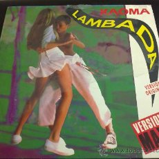 Discos de vinilo: KAOMA, LAMBADA VERSIÓN ORIGINAL MAXI - MAXI SINGLE 2 TEMAS. Lote 33832416