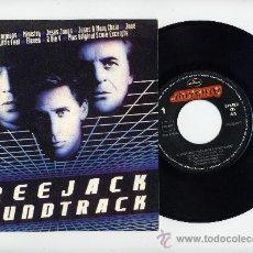Discos de vinilo: SCORPIONS.SINGLE PROMO 45 RPM.HIT BETWEEN THE EYES.FREEJACK BANDA SONORA.MERCURY 1990. Lote 33854874