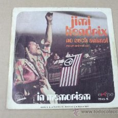 Discos de vinilo: JIMI HENDRIX NO SUCH ANIMAL + 1 EKIPO SPAIN 1971 @ VG++VG++. Lote 38991811